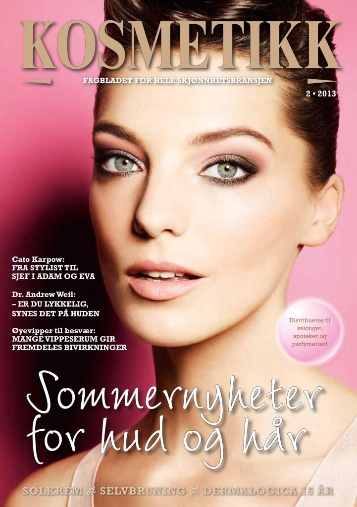 I 2013 var Daria Werbowy på coveret av KOSMETIKK.