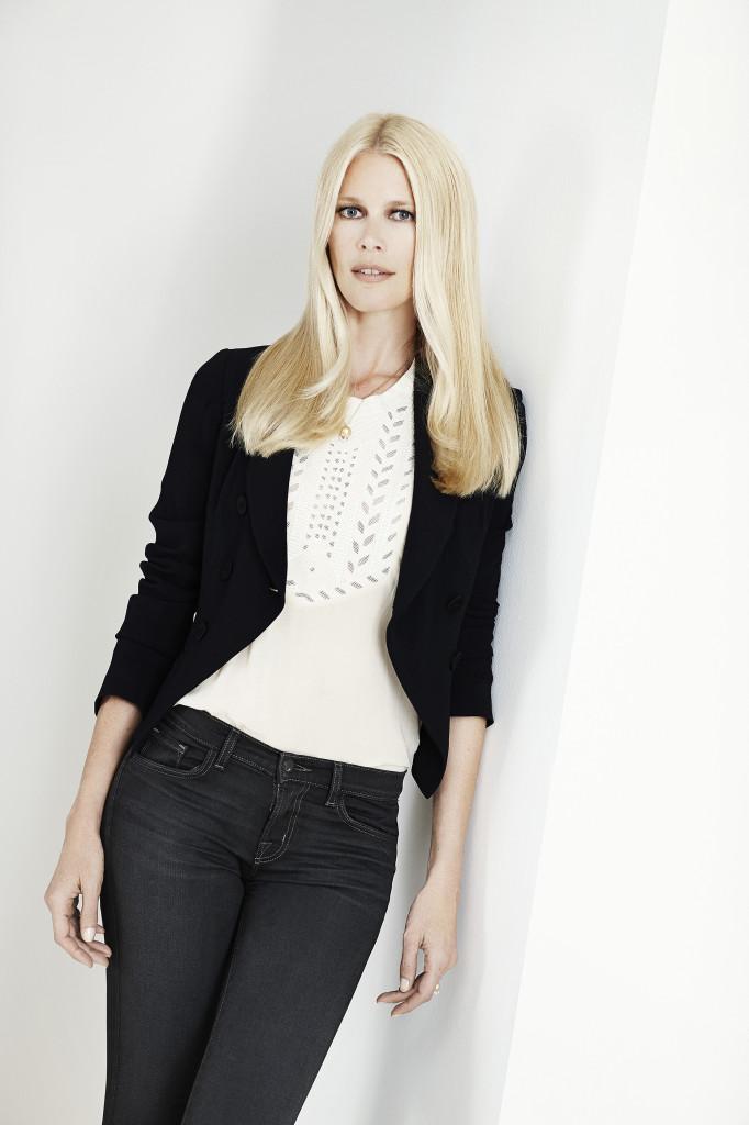 Claudia Schiffer samarbeider med Henkel