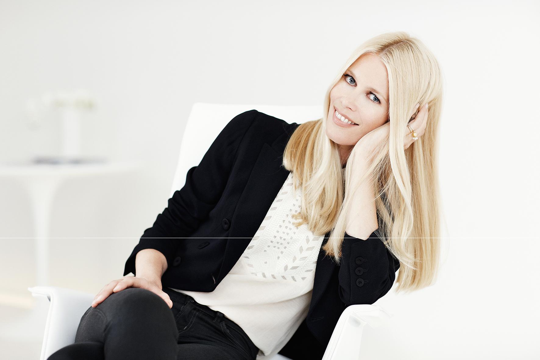 Claudia Schiffer samarbeider med Schwarzkopf