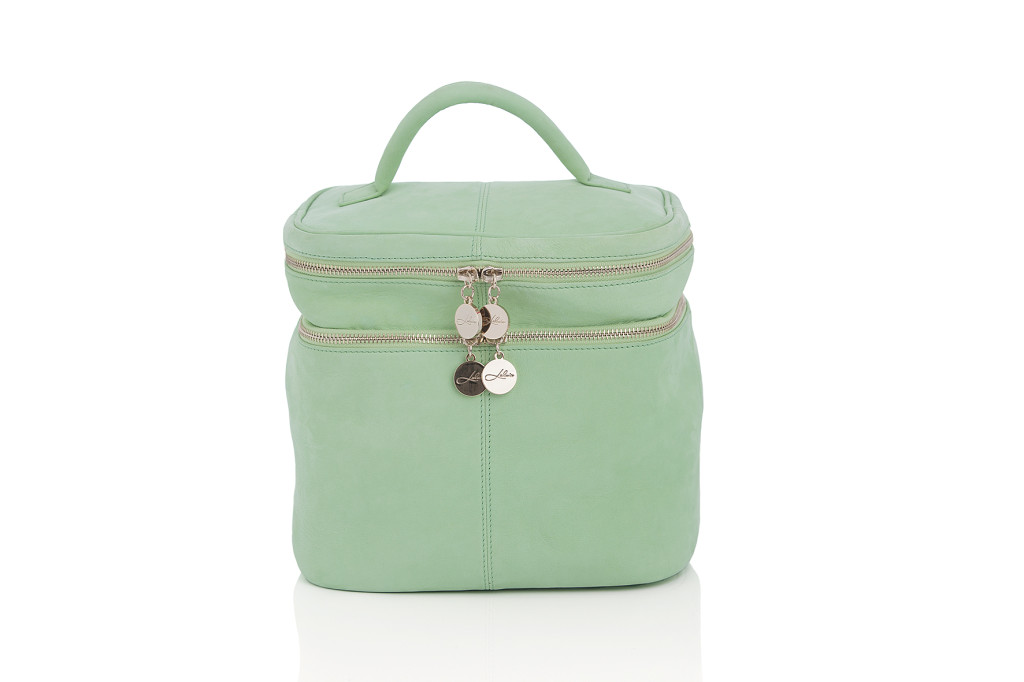 ss14 beauty bag skinn green 2299