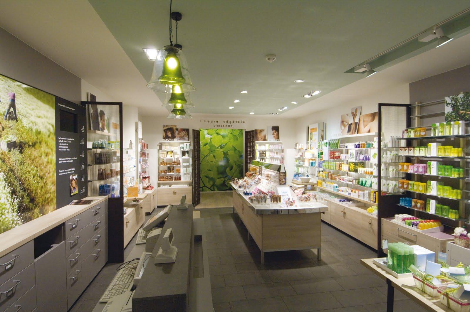 Yves Rocher åpner shops