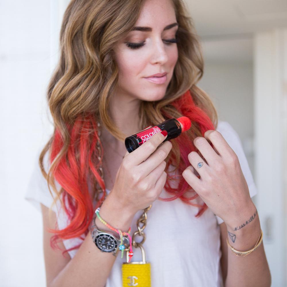Color Rebel er en hårkritt-liknende nyhet fra Redken.