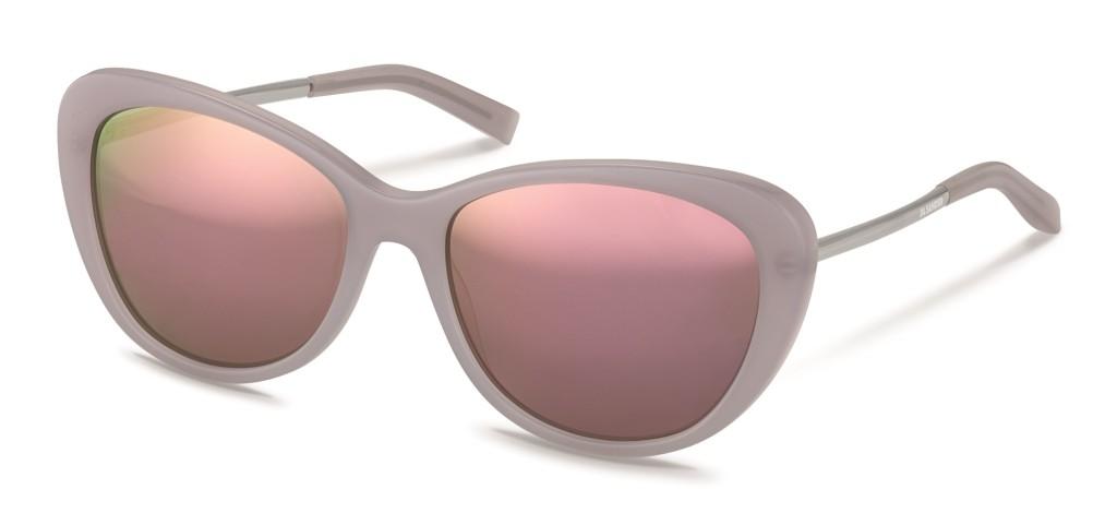 Solbriller med cateye-fasong fra Jil Sander.