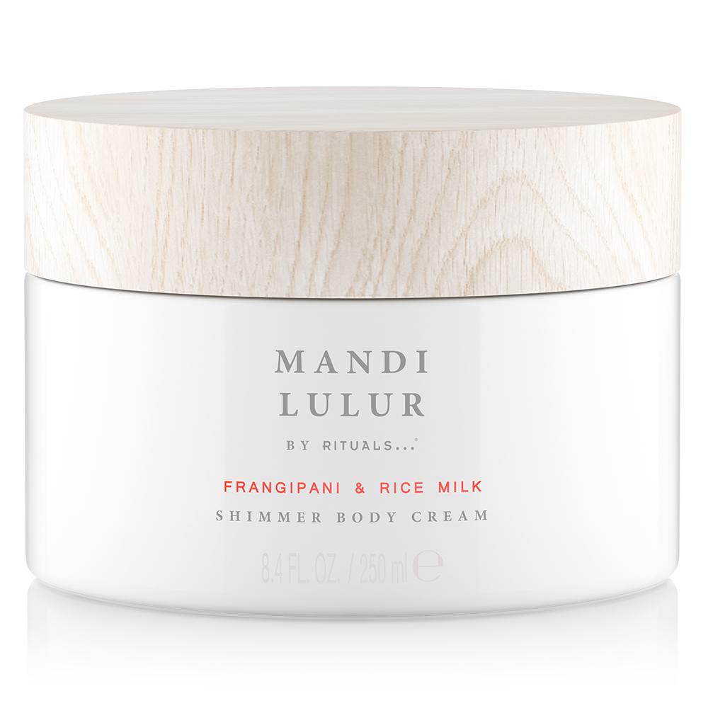 Mandi Lulur Body Cream med skimmer fra sommerkolleksjonen til Rituals.
