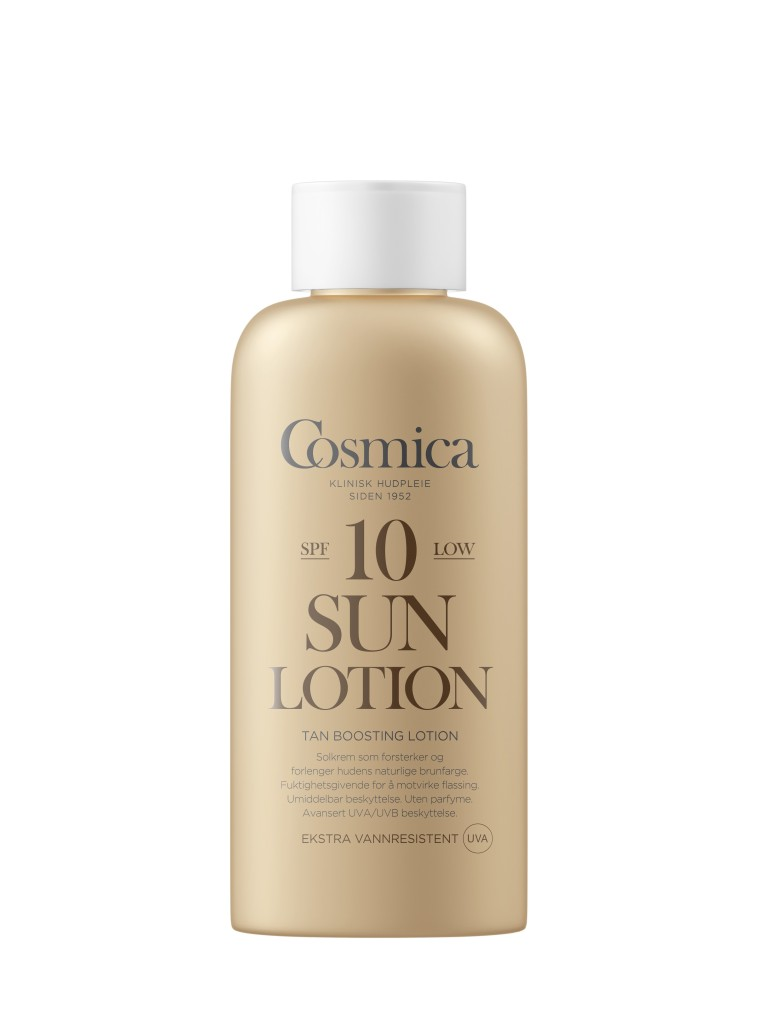 Tan Boosting Sun Lotion fra Cosmica.