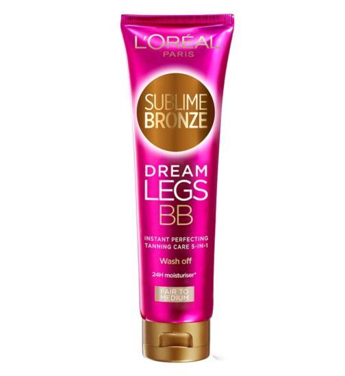 Sublime Bronze Summer Legs BB fra L'Oréal Paris er en bodylotion med korrigerende fargepigmenter som gir beina (og resten av kroppen) fuktighet, farge og glød.