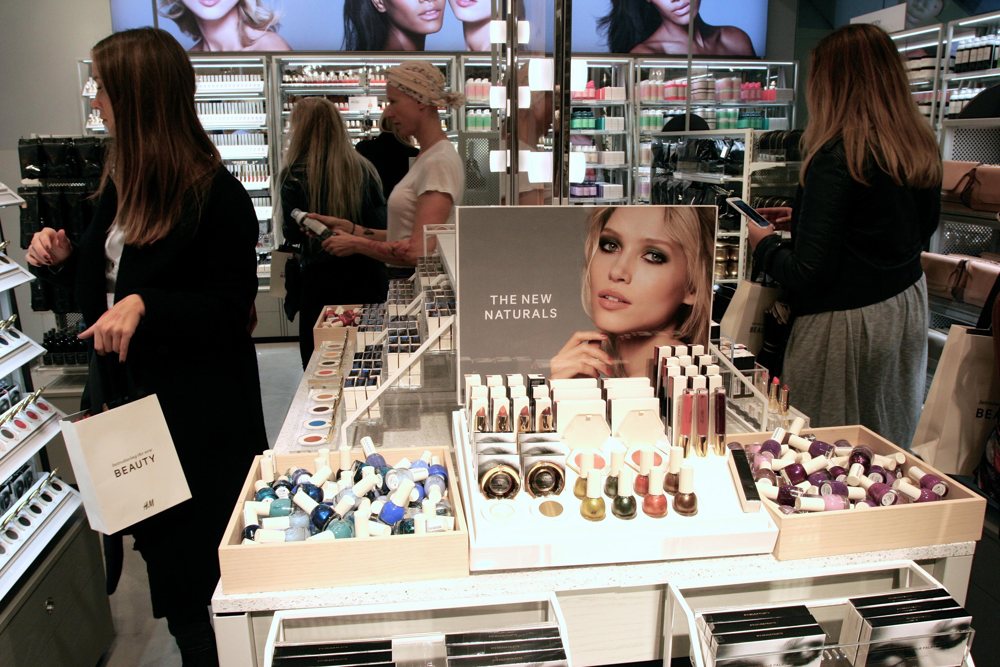 H&M kosmetikk