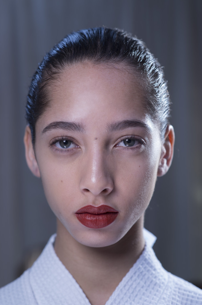 Pat McGrath gjorde nylig makeupen på høstshowet til Victoria Beckham.