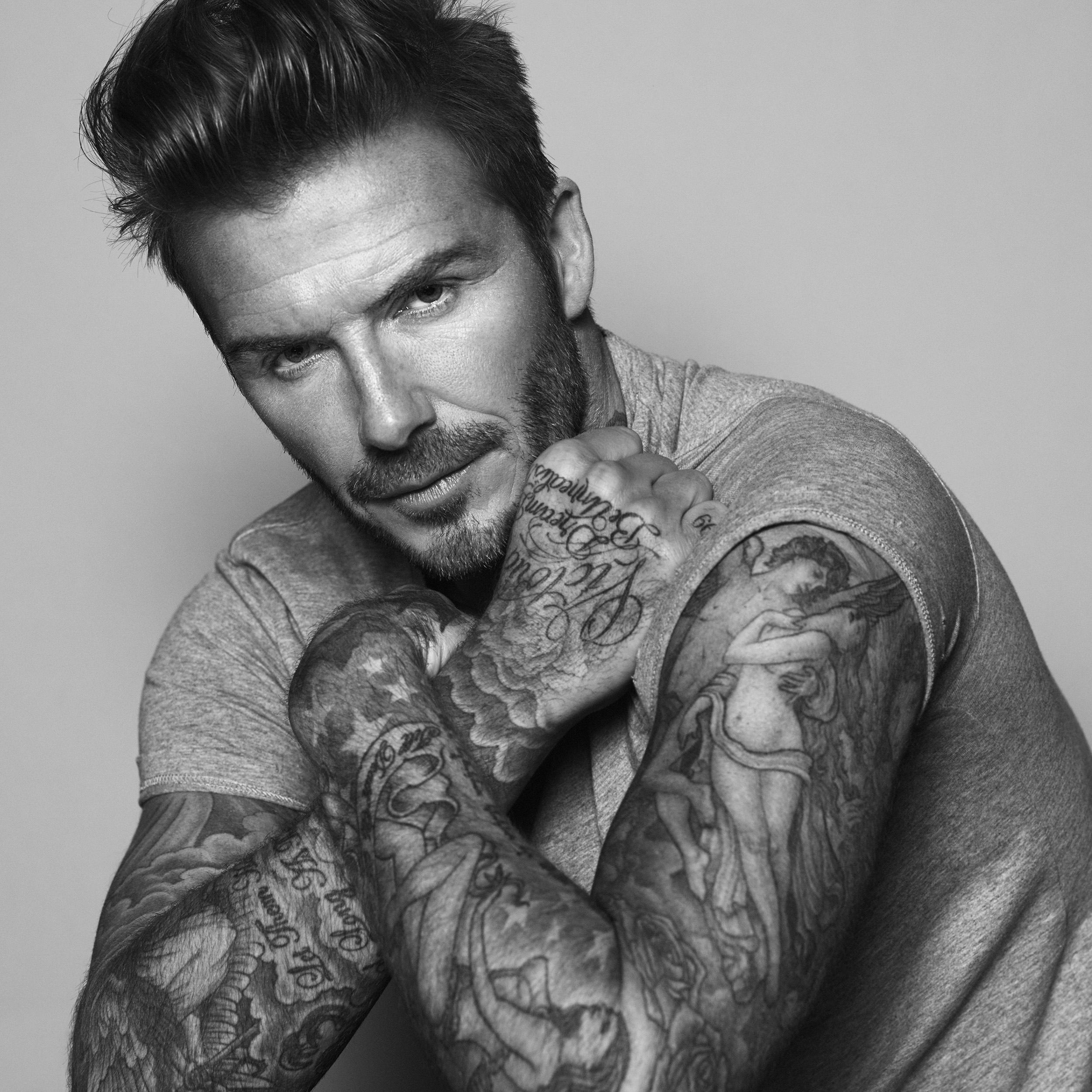 Beckham lager hudpleie