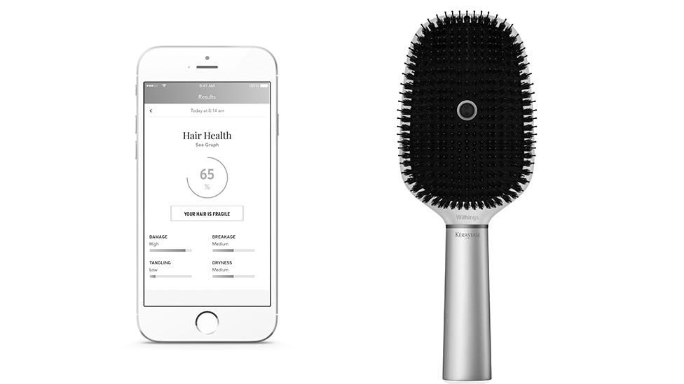Verdens første «smarte» hårbørste