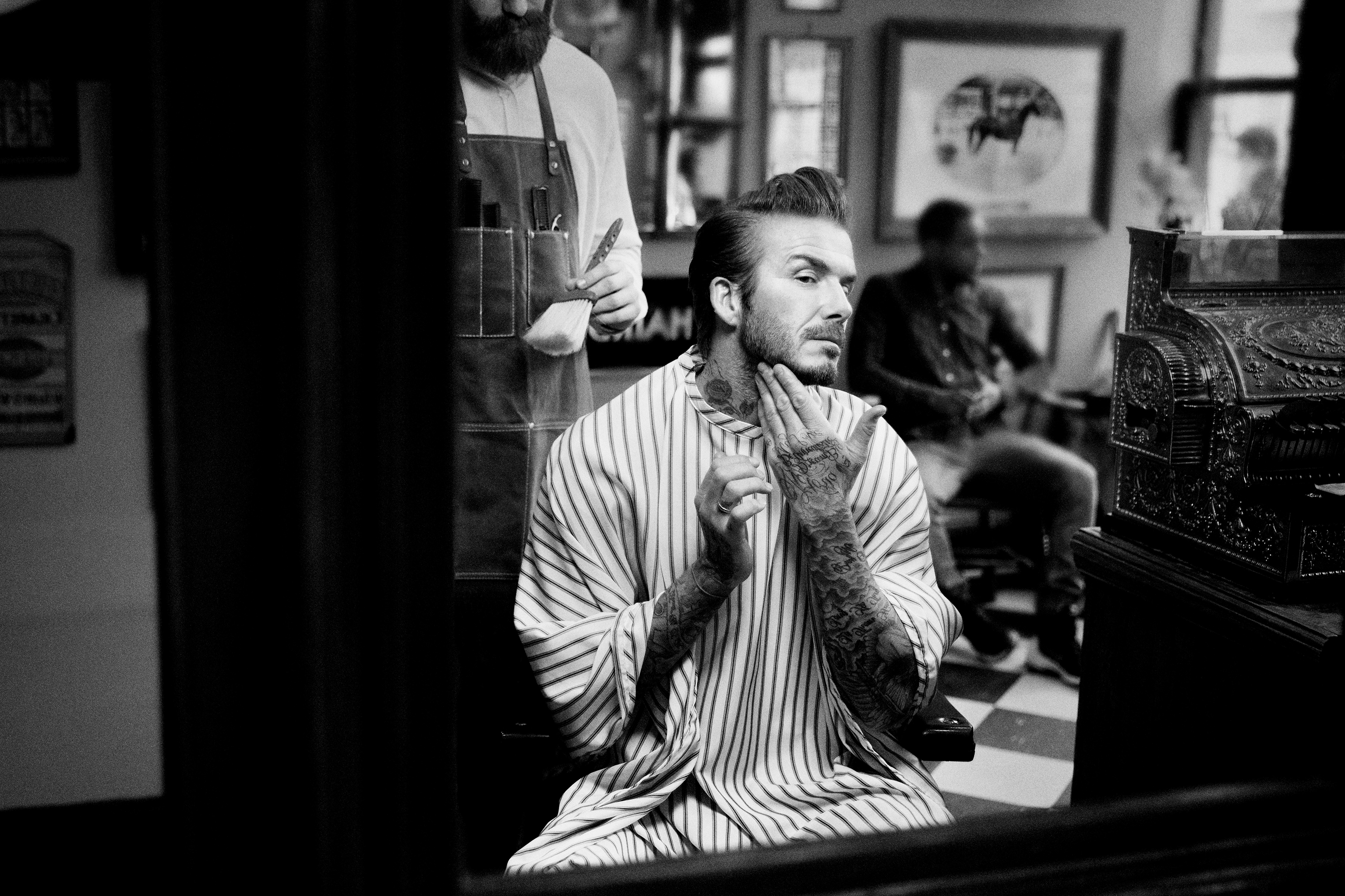 Beckham lanserer grooming-brand