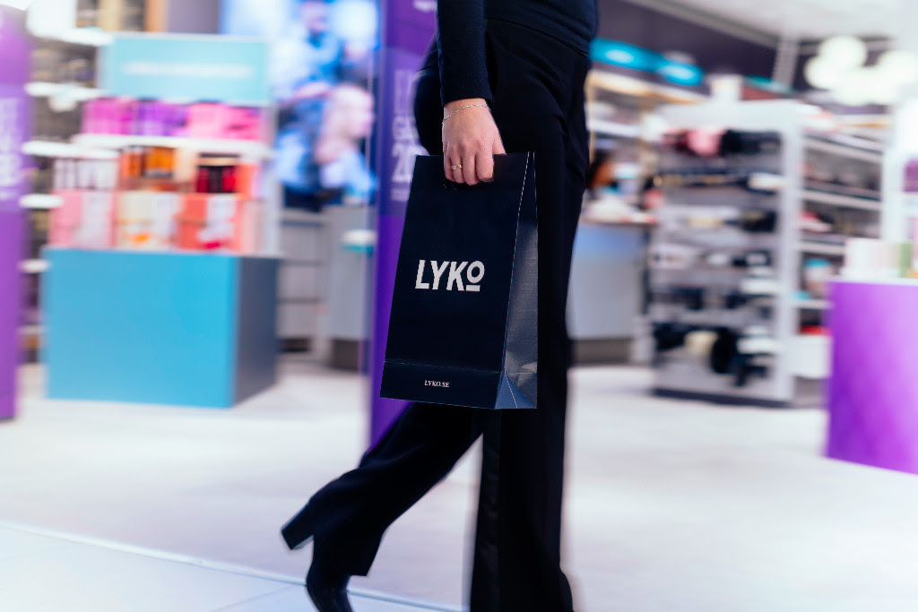 Lyko åpner på Oslo City